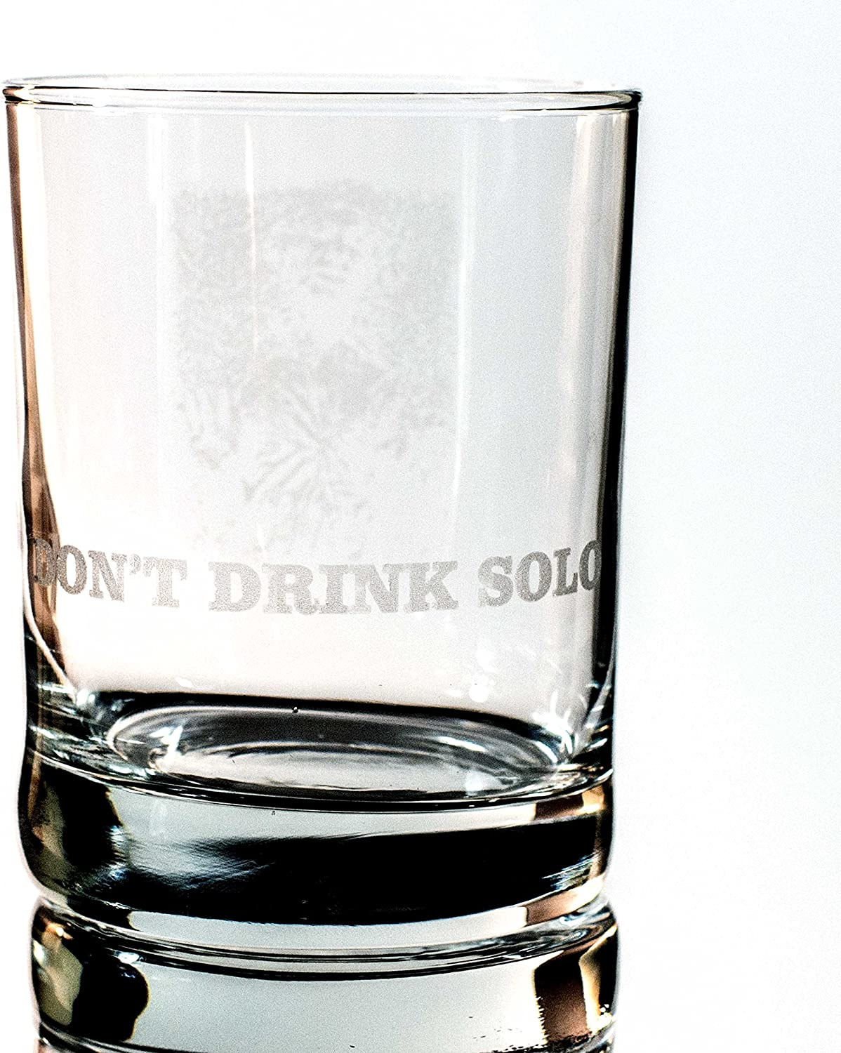 Designer Rocks Glass NEW before selling - Drink Don't Solo 100% quality warranty!