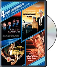 Clint Eastwood Comedy: 4 Film Favorites (Space Cowboys / Honkytonk Man / Every Which Way But Loose / Any Which Way You Ca...