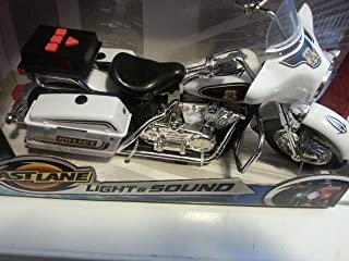 Toys R Us Fast Lane Action Wheels Police Motorcycle