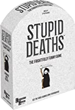 University Games Stupid Deaths The Party Game, Funny Card Game & Board Game for Adults & Teens Ages 12 & Up