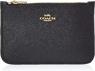 COACH Women's Zip Card Case in Crossgrain Leather