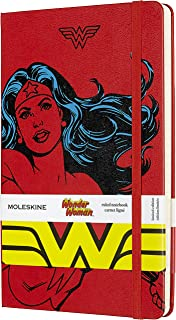 Moleskine Limited Edition Wonder Woman Notebook, Hard Cover, Large (5