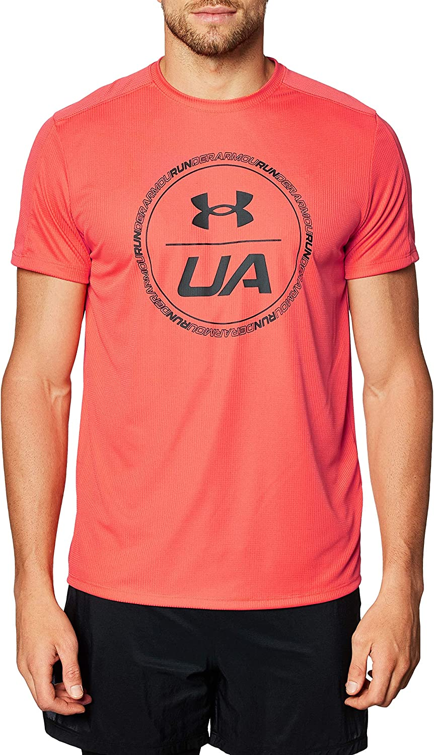 Under Armour Men's Speed Graphic Limited price sale Stride T-Shirt New life Short-Sleeve