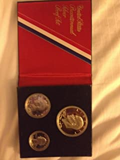 1976 Silver Bicentennial Proof Set in Original Packaging 3-Coins