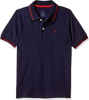 Allen Solly Junior Boys' Plain Regular Fit T-Shirt
