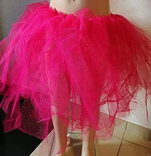 Handmade Tüllrock Tutu Tütü Tanzrock pink Kinderrock Mädchenrock Kostüm Verkleidung Fasching Karneval Fasnacht Kostüm Gr. 110/116