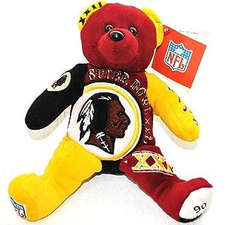 Washington Redskins vs Denver Broncos RARE Offical NFL Super Bowl XXII(22) Collectable Plush Bear