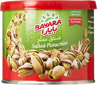 Bayara Pistachios Salted Can, 100 gm