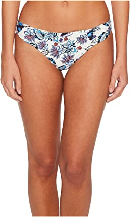 Ella Moss - Folktale Floral Shirred Side Retro Bikini Bottom