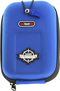 Navitech Blue EVA Rangefinder Hard Case/Cover with Carabiner Clip Compatible with The Nikon COOLSHOT 20 / Nikon COOLSHOT 40 / Nikon COOLSHOT 40i / Nikon COOLSHOT 80 VR/Nikon COOLSHOT 80i VR