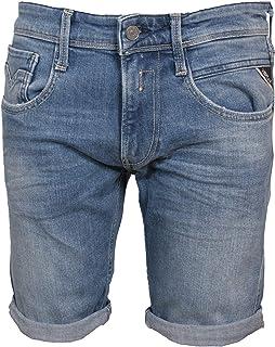REPLAY Anbass Short Pantalones Cortos para Hombre