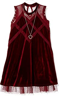 Beautees Girls' Big Line Dress