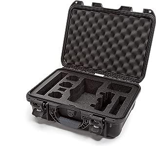 Nanuk DJI Drone Waterproof Hard Case with Custom Foam Insert for DJI Mavic 2 Pro/Zoom - Black - Made in Canada
