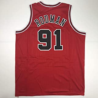Unsigned Dennis Rodman Chicago Red Custom Stitched Basketball Jersey Size Men's XL New No Brands/Logos