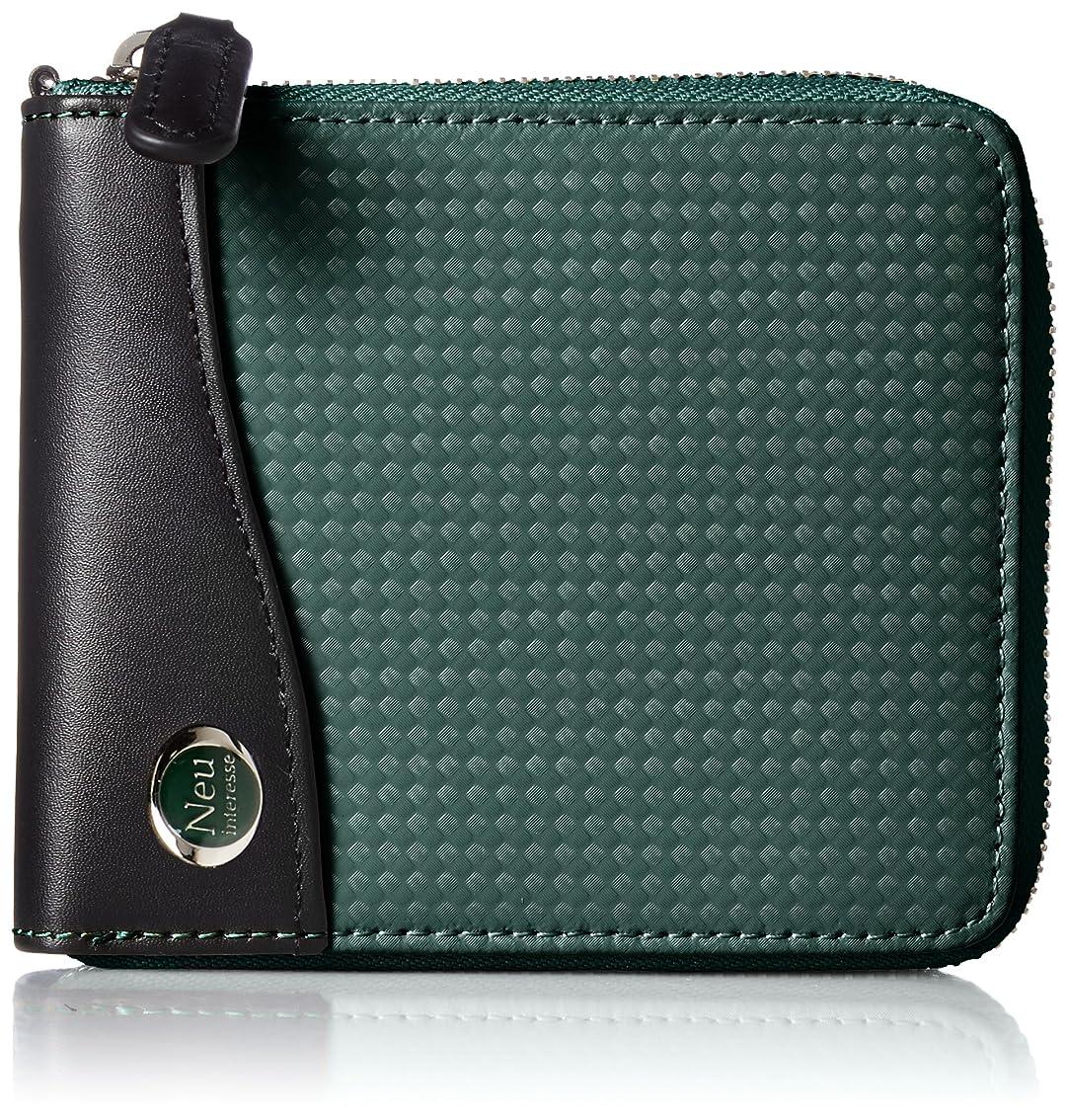 コンテンポラリーエンジニアギャラリー[ノイインテレッセ] 2つ折り財布(ラウンドファスナー型) ファルベ
