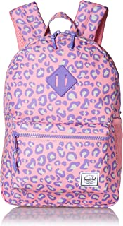 Herschel Heritage Youth Kid's Backpack, Pop Leopard, One Size