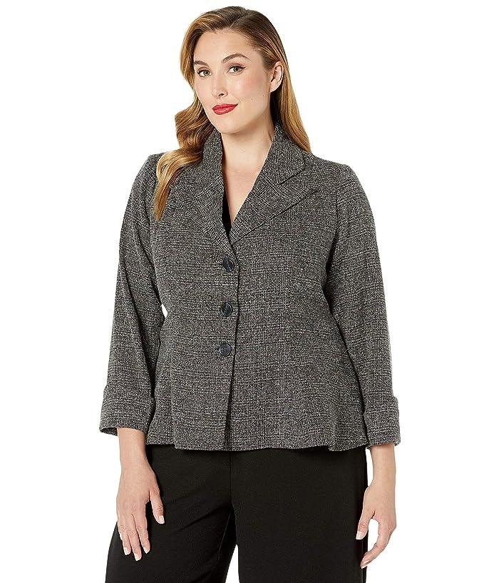 Vintage Suits Women | Work Wear & Office Wear Unique Vintage Rachael Micheline Pitt for Unique Vintage Tweed Suit Jacket Grey Womens Clothing $128.00 AT vintagedancer.com