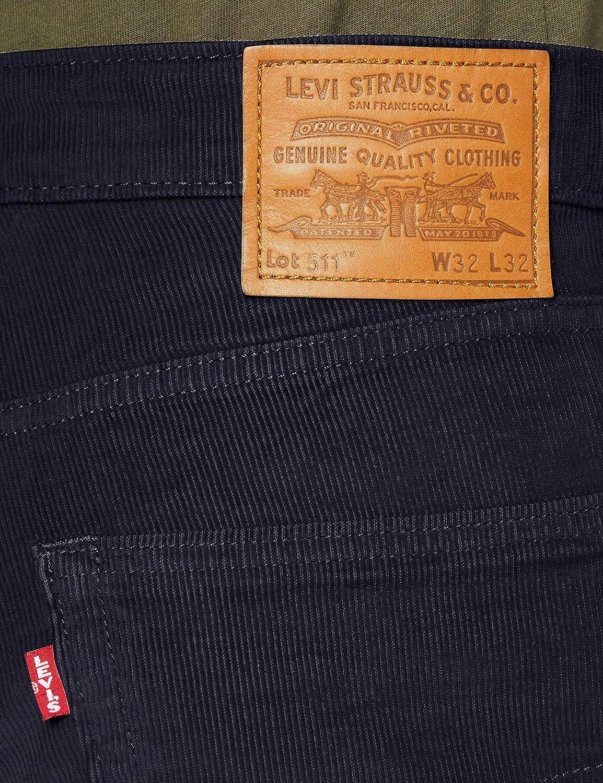 Levi's 511 Slim Fit Jean Homme Nightwatch Blue Str 14w Cord Gd