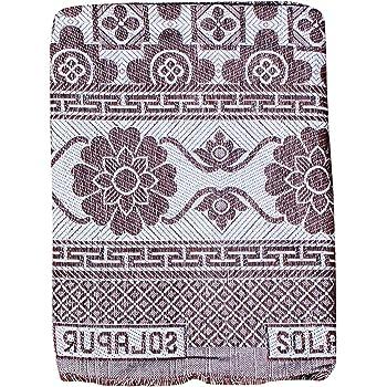 Mandhania Cotton 400 TC Solupuri Bedsheet (Single_Multicolour)