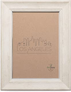 Picture Frame Ivory - Mount Desktop Display, Frames by EcoHome (Ivory, 4x6)