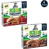 Quaker Kids 20 Count Organic Whole Grain Bars 2 Flavor Variety Pack
