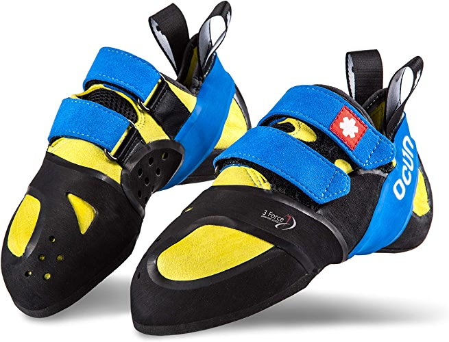 Rock Pillars Ozone QC jaune bleu UK 11,5 EU 46,5