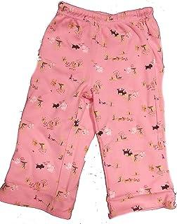 Pink Bow Elastic Waist Gymboree Infant Baby Girl Black Pants