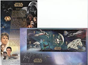 Royal Mail Star Wars The Force Awakens - Official Stamp Sheet Souvenir First Day Cover Collectible Postage Stamps