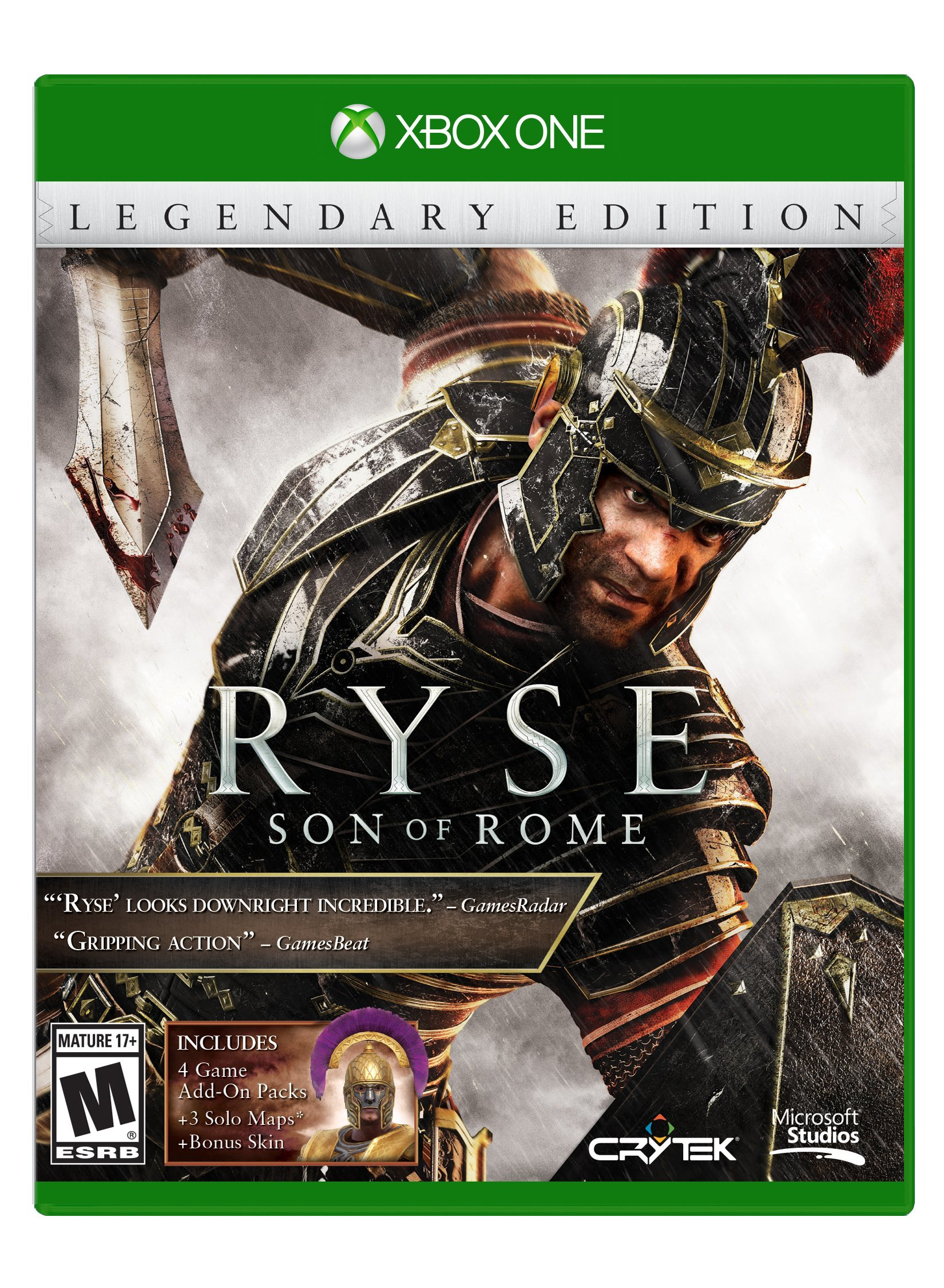 Ryse: Son of Rome Legendary Edition (Xbox One) [Importación ...