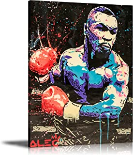 ALEC Monopoly HD Printed Oil Paintings Home Wall Decor Art On Canvas Boxing Tyson 24x32inch Unframed