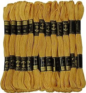Anchor prodotto da Gcs London colore nero filo da ricamo 125 matassine in cotone