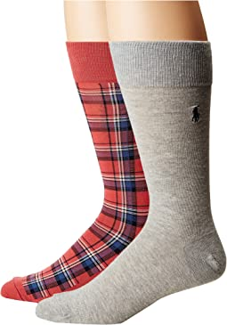 Plaid 2-Pack Socks
