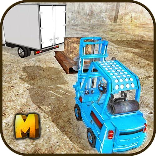 Heavy Forklift Drive Challenge