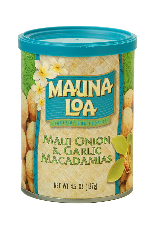 Mauna Loa Sacramento Mall Maui Onion Garlic 4.5 Macadamias oz Sacramento Mall g 127