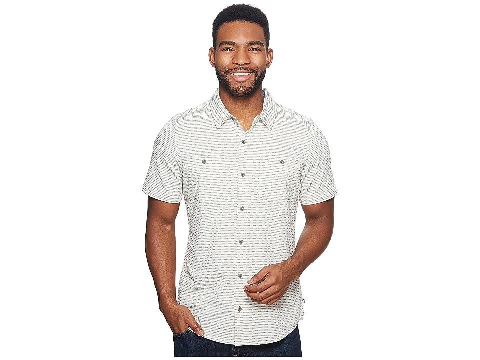 Toad&Co Harris Short Sleeve Slim Shirt (Salt) Men