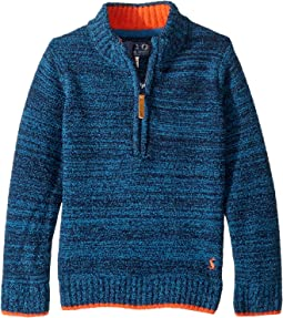 Chenille 1/2 Zip Sweater (Toddler/Little Kids)