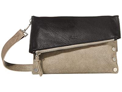 Hammitt Dillon Medium (Black/Pewter/Gunmetal/Brushed Silver) Handbags