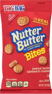 Nutter Butter Bites Mini Cookies, Peanut Butter, 3 Ounce