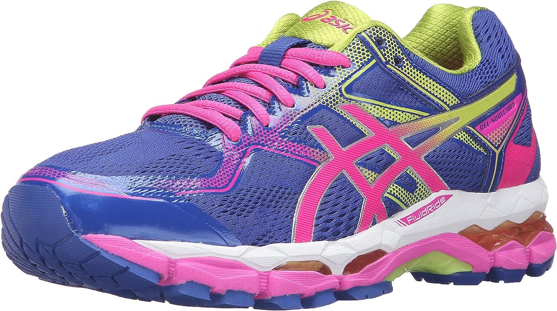Amazon.com | ASICS Women's Gel-Surveyor 5 Running Shoe, Blue/Pink ...