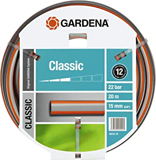Gardena 18013 -26 Tuyau d'arrosage Classic, Noir