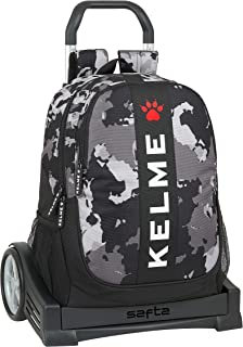 Mochila Espalda Ergonómica con Carro Evolution de Kelme Camp, 320x160x440mm