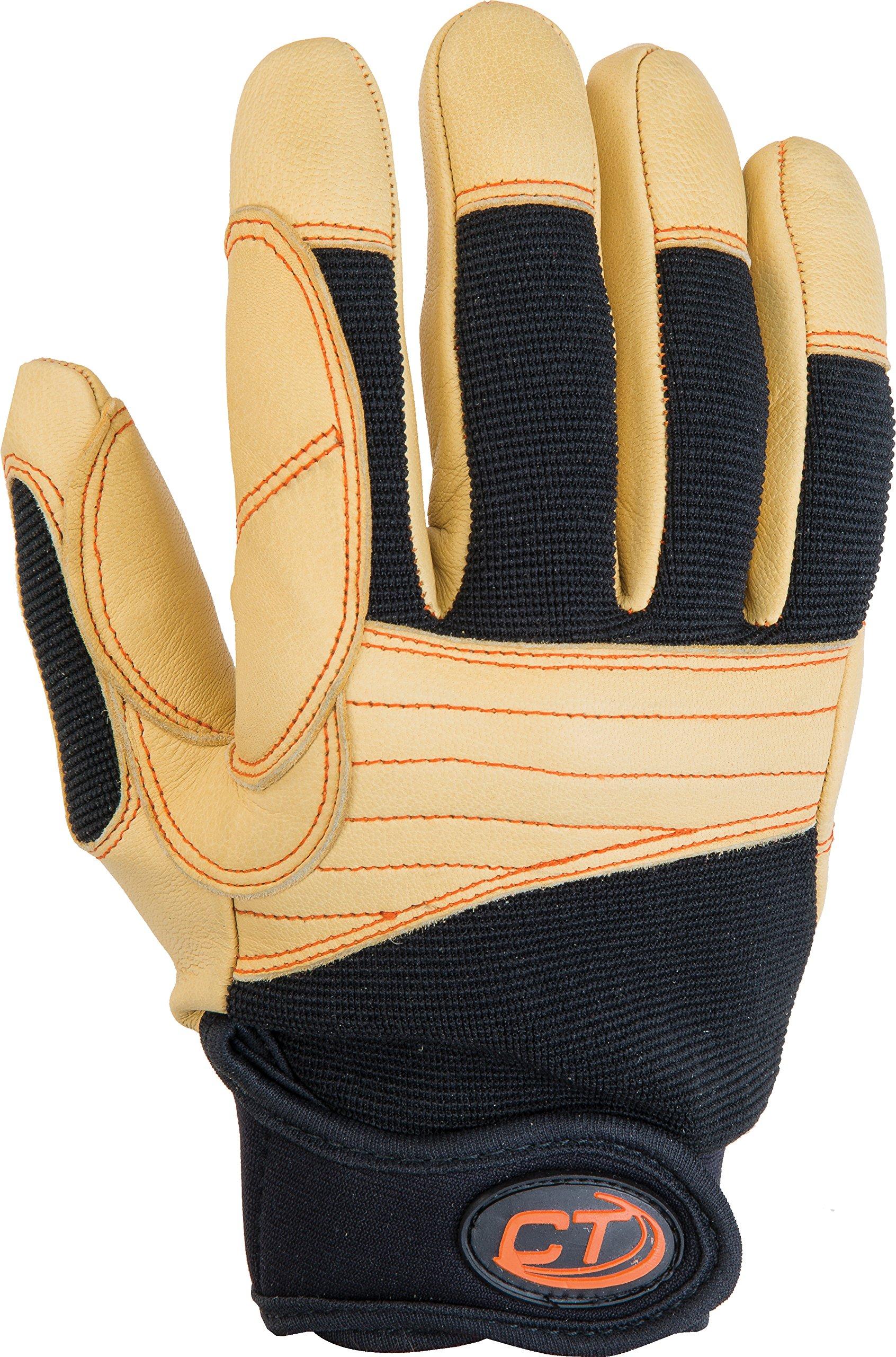 Climbing Technology ProGrip Plus Fingerhandschuh, Unisex, braun, L