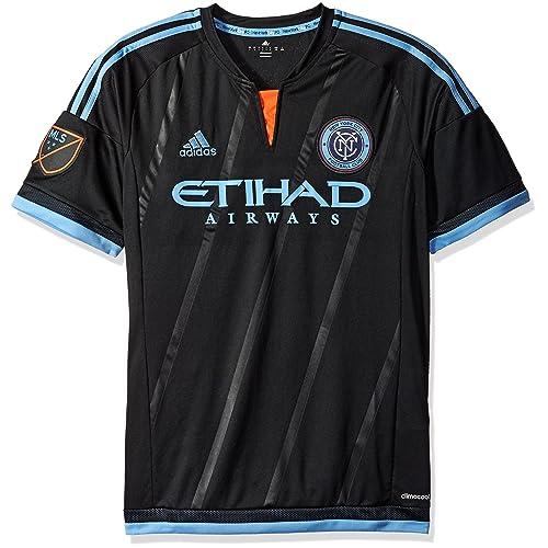 cd9138505 adidas MLS Men s Replica Short Sleeve Jersey