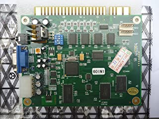 Classical Arcade Video Game 60 in 1 PCB Jamma Arcade Game Board for CGA VGA Output Multi Games PCB for Jamma Cabinet Arcad...
