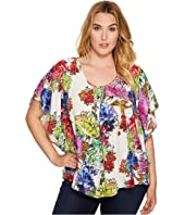 Karen Kane Plus - Plus Size Angel Top