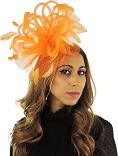 Gorgeous Black Velvet Ascot Derby Fascinator Hat - With Headband - Available in 30 Colours