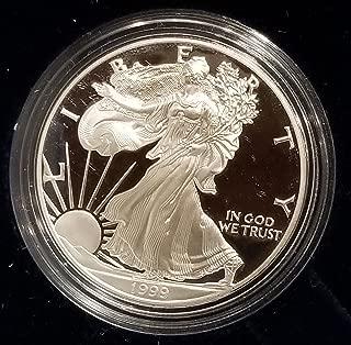 1999 P American Eagle 1 Ounce Bullion Coin $1 Proof US Mint