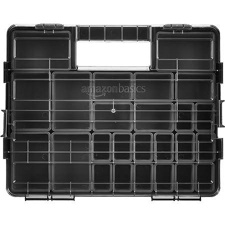 Amazon Basics - Organizador de herramientas, 25 compartimentos