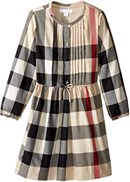 Burberry Kids - Cassie Check Dress (Little Kids/Big Kids)
