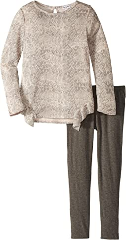 Splendid Littles - Python Print Loose Knit Set (Little Kids)